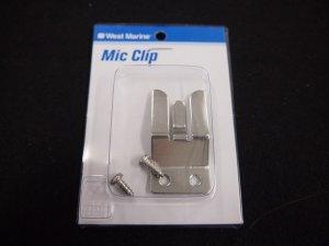 画像2: 無線機マイククリップステンレス製