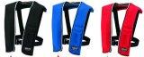 オーシャンLG-3型ライフジャケット手動膨張式(JCI検定品)ブラック/ブルー/レッド