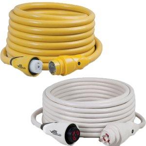 画像1: マリンコ陸電ケーブル EELシリーズ(イエロー/ホワイト)