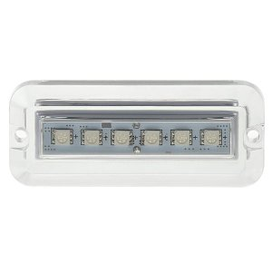 画像2: LEDレクタングル水中ライト2個セット グリーン