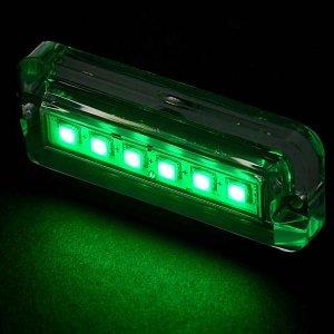 画像3: LEDレクタングル水中ライト2個セット グリーン