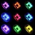 画像3: ラウンド12 LED水中ライト、ブロンズハウジング、レインボー (3)