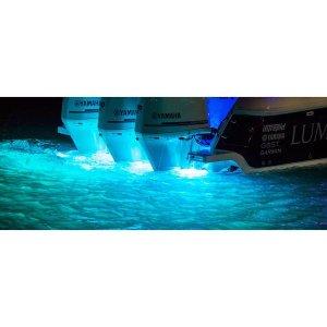 画像2: SeaBlaze Quattro LED水中ライト、ホワイト/ブルー