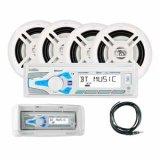 MXCP494BTSマリンデジタルメディア&Bluetoothレシーバー/4スピーカーパッケージ