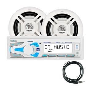 画像1: MXCP49BTマリンデジタルメディア&Bluetoothレシーバー/2スピーカーパッケージ
