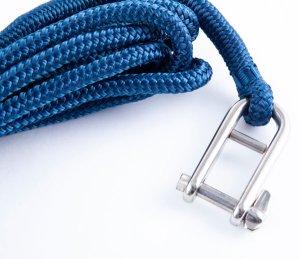 画像2: トップウォーターオリジナル フライングギャフフック  ロープ付き