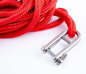 画像3: トップウォーターオリジナル フライングギャフフック  ロープ付き