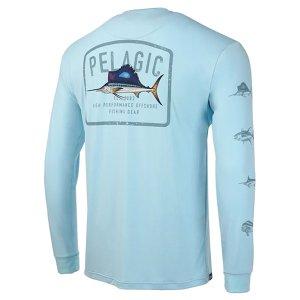 画像4: ペラジック アクアテック ゲームフィシング 長袖Tシャツ