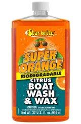 スターブライト スーパーオレンジ ボートウォッシュ&ワックス 32oz(946ml)